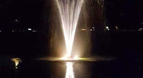 Night Time View of Fountain